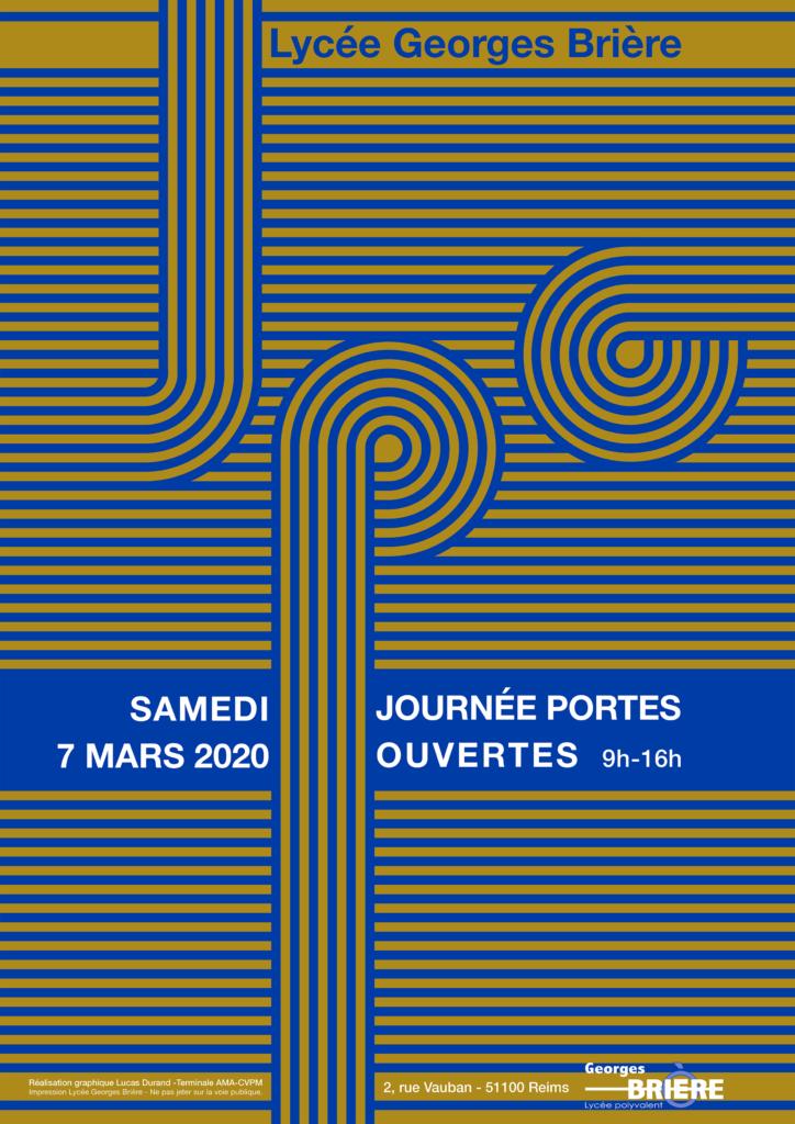 Affiche JPO 2020
